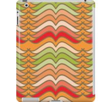 Wavy Abstract Colorful Stripes iPad Case/Skin