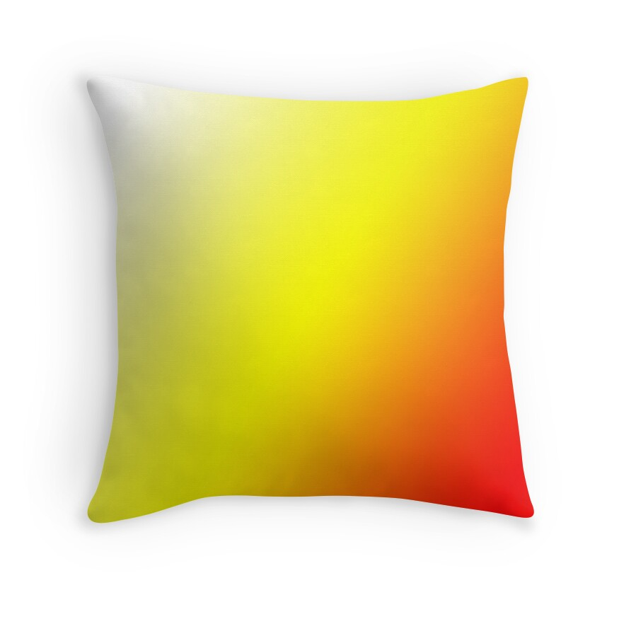 Yellow And Red Decorative Pillows : Yellow And White Throw Pillows