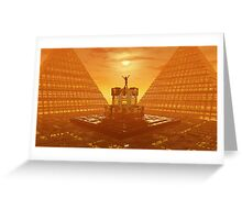 Temple of Ra Greeting Card