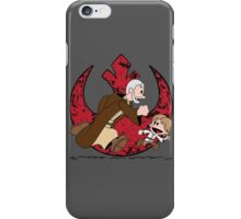 Lets be Jedi (Old Ben & Luke) iPhone Case/Skin