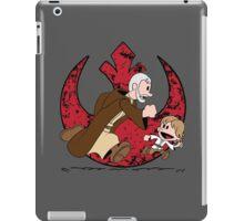 Lets be Jedi (Old Ben & Luke) iPad Case/Skin