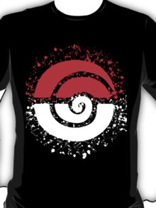Splattered Tribalish Pokeball! T-Shirt