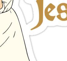 Dancing with Jesus Sticker