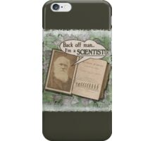 Popular Science: Charles Darwin 2 (distressed) iPhone Case/Skin