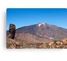El Teide: Roques de Garcia Canvas Print