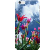 Multi color Tulips iPhone Case/Skin