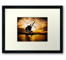 Industrial Nature Framed Print