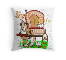 Gypsy Magic Calendar (cover and artwork) Throw Pillow