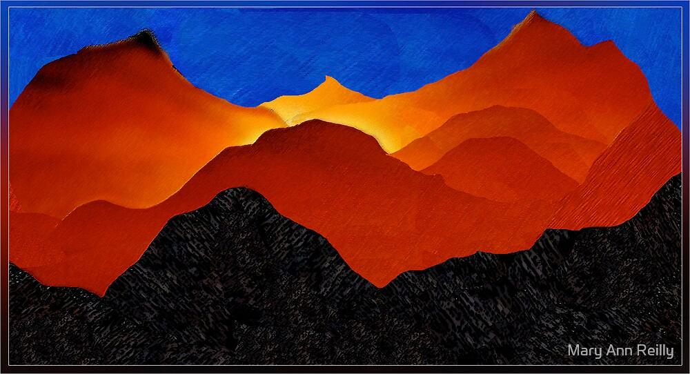 Kilauea Volcano I by Mary Ann Reilly