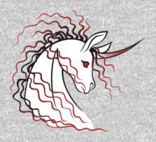 Ki-Rin (Japanese Unicorn) - Red Kids Clothes