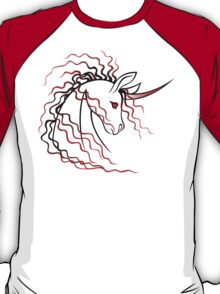 Ki-Rin (Japanese Unicorn) - Red T-Shirt