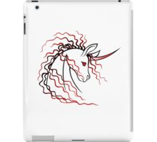 Ki-Rin (Japanese Unicorn) - Red iPad Case/Skin