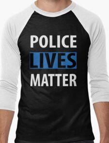 POLICE LIVES MATTER Men's Baseball ¾ T-Shirt