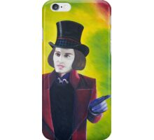 Willy Wonka - Johnny Depp iPhone Case/Skin