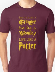 Live Like a Potter Unisex T-Shirt