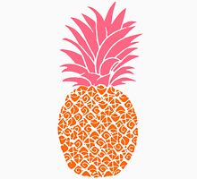 Modern Pop Art Orange & Pink Pineapples Unisex T-Shirt