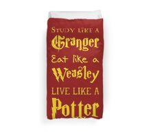 Live Like a Potter Duvet Cover