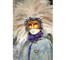 Venice - Carnival  Mask Series 06 Photographic Print