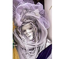 Venice - Carnival  Mask Series 07 Photographic Print