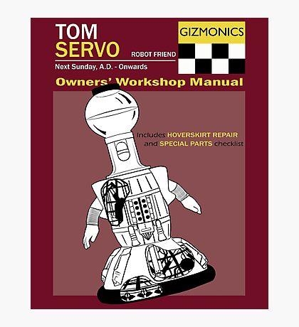 Servo Workshop Manual Photographic Print