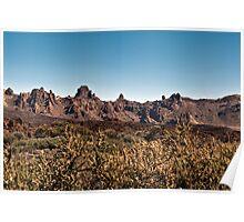 El Teide: Caldera Landscape Poster