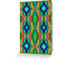 Diamond dreams in a Coral Reef Greeting Card