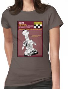 Servo Workshop Manual Womens Fitted T-Shirt