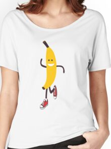 Awesome Running Banana Women's Relaxed Fit T-Shirt