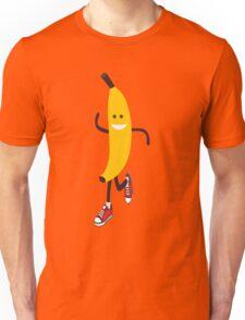 Awesome Running Banana Unisex T-Shirt