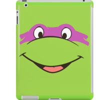 TMNT Teenage Mutant Ninja Turtles Leonardo Michelangelo Donatello Raphael Mikey Green iPad Case/Skin