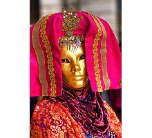 Venice - Carnival  Mask Series 08 Photographic Print