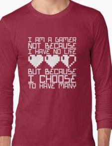 Many Lives Long Sleeve T-Shirt