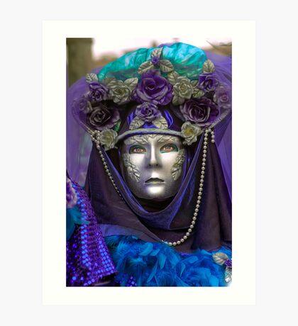 Venice - Carnival  Mask Series 09 Art Print