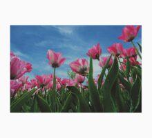 Pink Tulip Fields T-Shirt