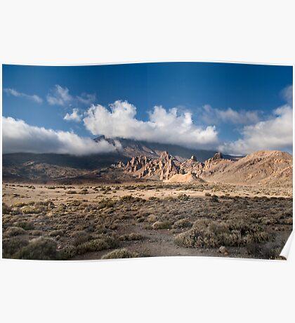 El Teide: Roques de Garcia Panorama Poster