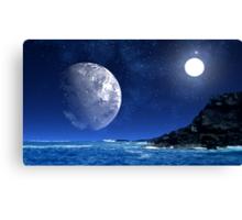 Distant Sun-Pele's Heaven Canvas Print