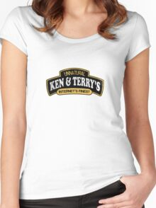 Ken and Terrys Women's Fitted Scoop T-Shirt