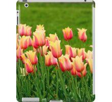 Orange yellow Tulips iPad Case/Skin