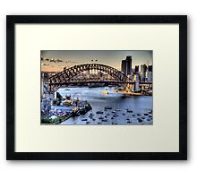 Sydney In Closeup - Mood Of A City - The HDR Experience Framed Print