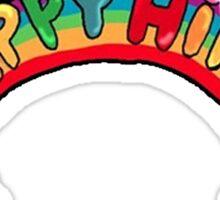 Happy Hippie: Logo Sticker