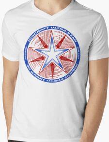 Discraft Ultrastar (White) Mens V-Neck T-Shirt