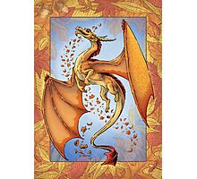 The Dragon of Autumn Photographic Print