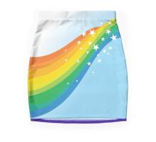 Sparkle Rainbow Mini Skirt
