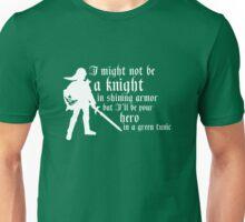 Hero in Green Unisex T-Shirt