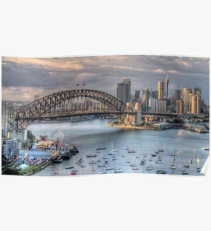 Sydney Fantasia - Moods Of ACity - The HDR Experience Poster