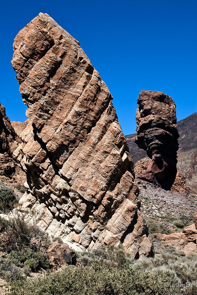 El Teide: Roques de Garcia and Chinchado by Kasia-D