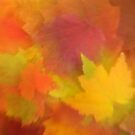 Autumn Abstract by Gina Ruttle  (Whalegeek)