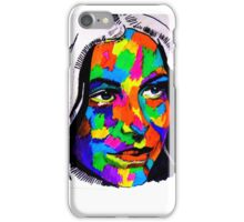 Female Face Abstract iPhone Case/Skin