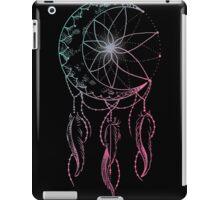 moon catcher- crescent moon dreamcatcher iPad Case/Skin