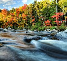 Along the Kancamagus by -Rhonda-
